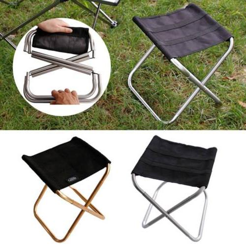 Folding Camping Chair Stool Ultralight Storage Bag