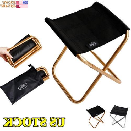 folding camping chair fishing stool ultralight