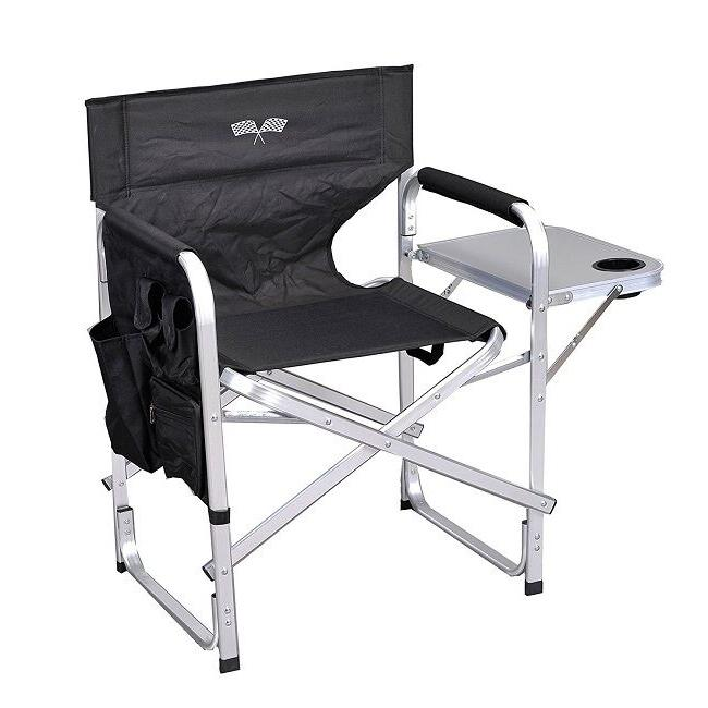 folding camping chair portable camp chairs tray
