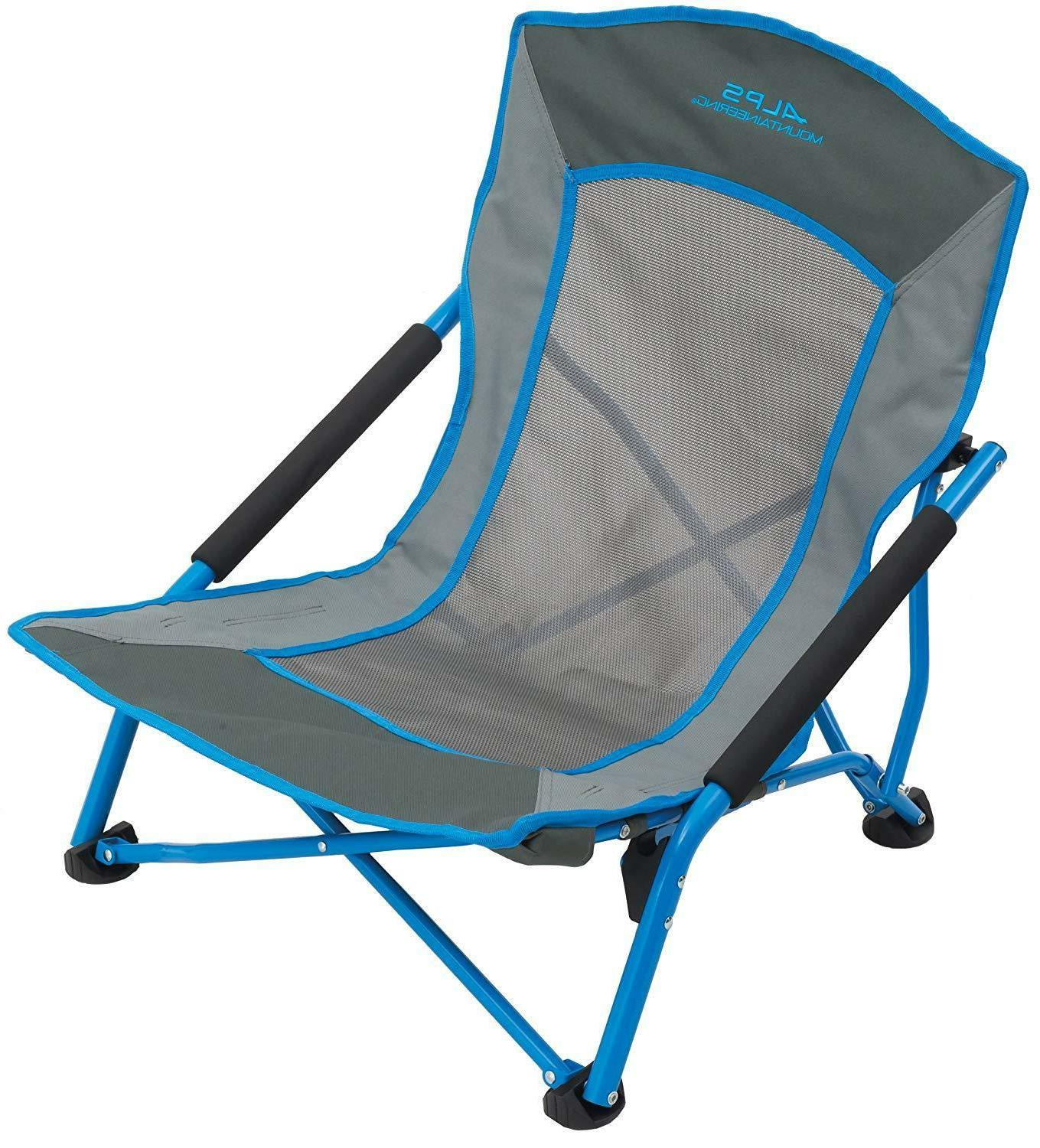 rendezvous chair camping outdoor sporting blue gray