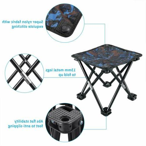 Folding Chair Outdoor Fishing Camping Stool Portable Lightweight