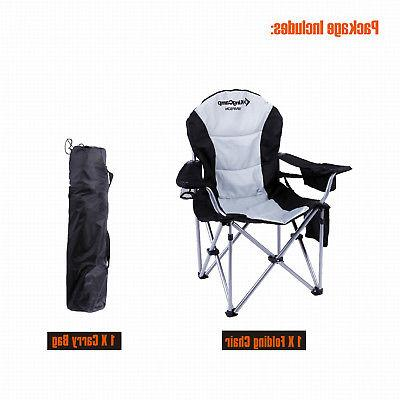 KingCamp Folding Chair Camping Lumbar Support Big