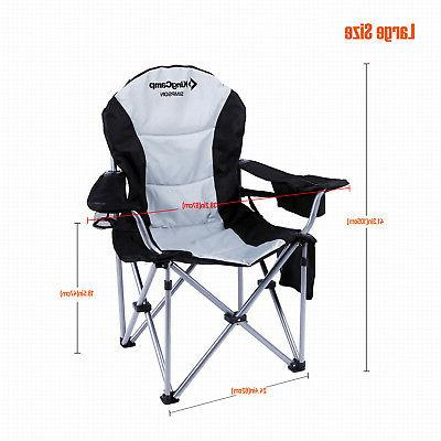KingCamp Folding Chair Camping Heavy-Duty Support Big