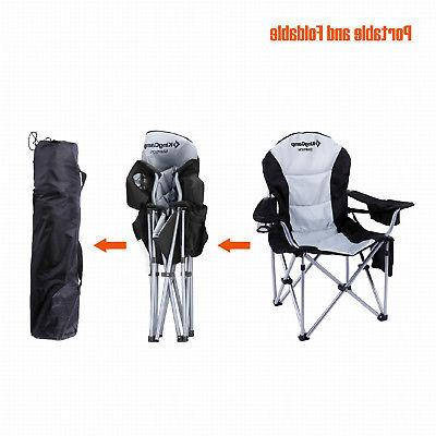 KingCamp Folding Portable Camping Heavy-Duty Lumbar Big Guy