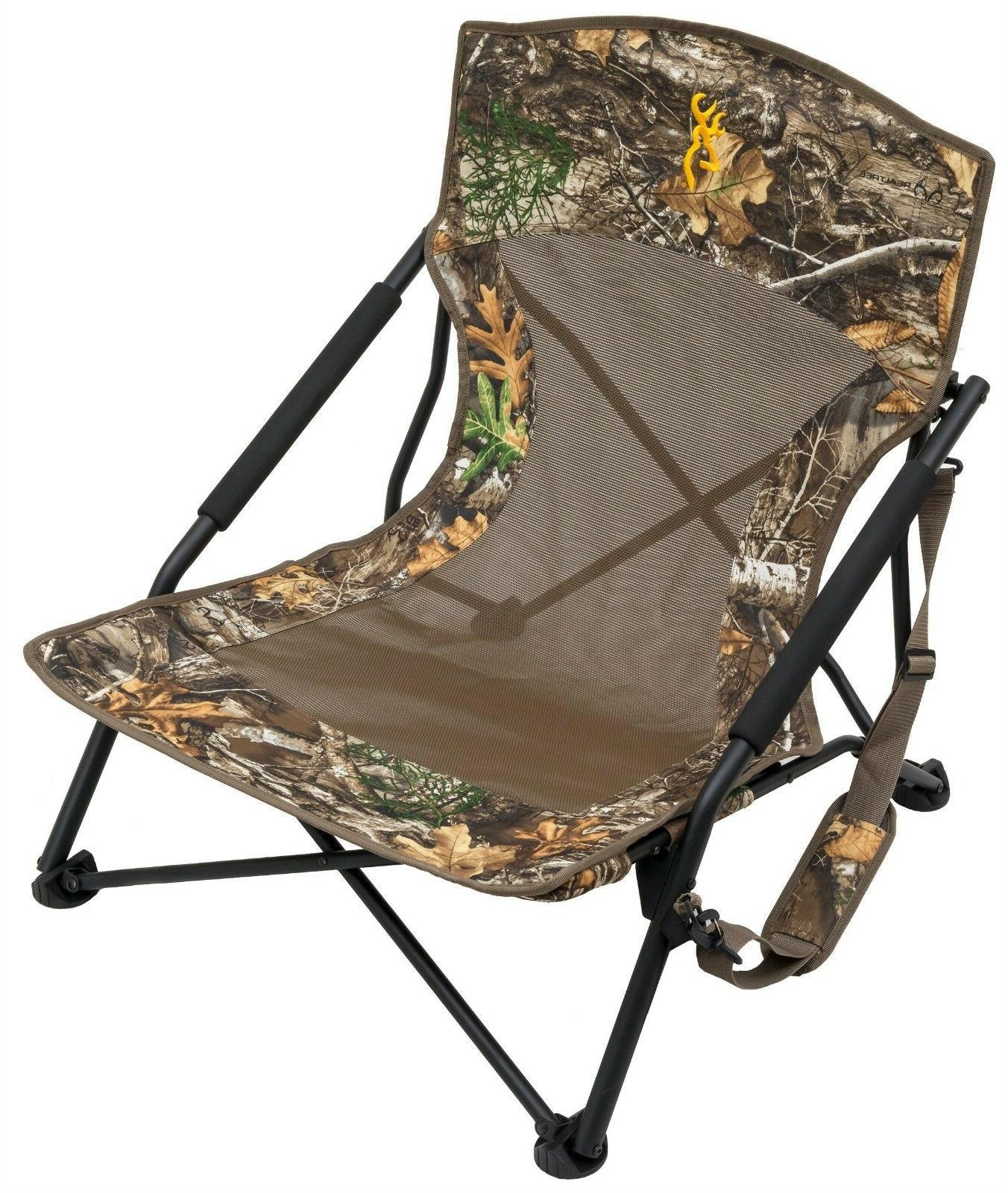 "Folding W/ Arms 22"" W/ 8"" Carry Bag Chair"