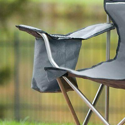 Coleman Folding Chair 4-Can Camping Outdoor Seat Beach
