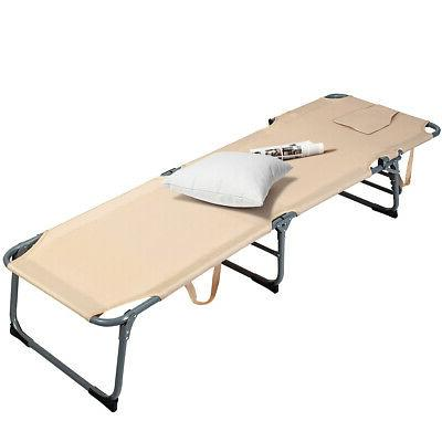 Folding Chair Bed Patio Camping