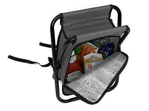 Folding Cooler Backpack Collapsible Padded by GigaTent