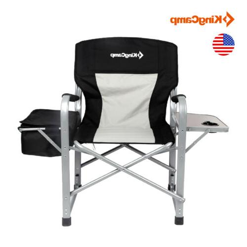 NEW Folding Director's Chair Makeup Camping Chair Outdoor Si