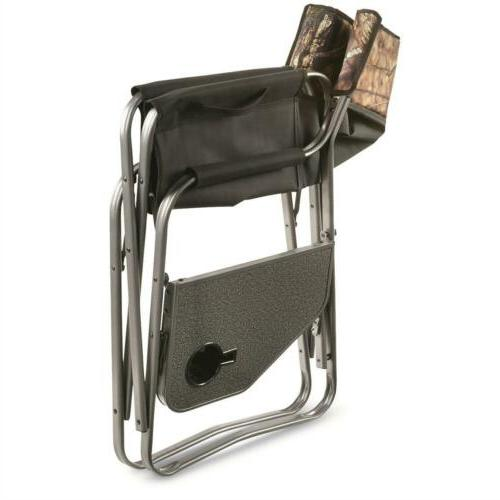 Folding Chair Camping 500 With Holder Mossy Oak