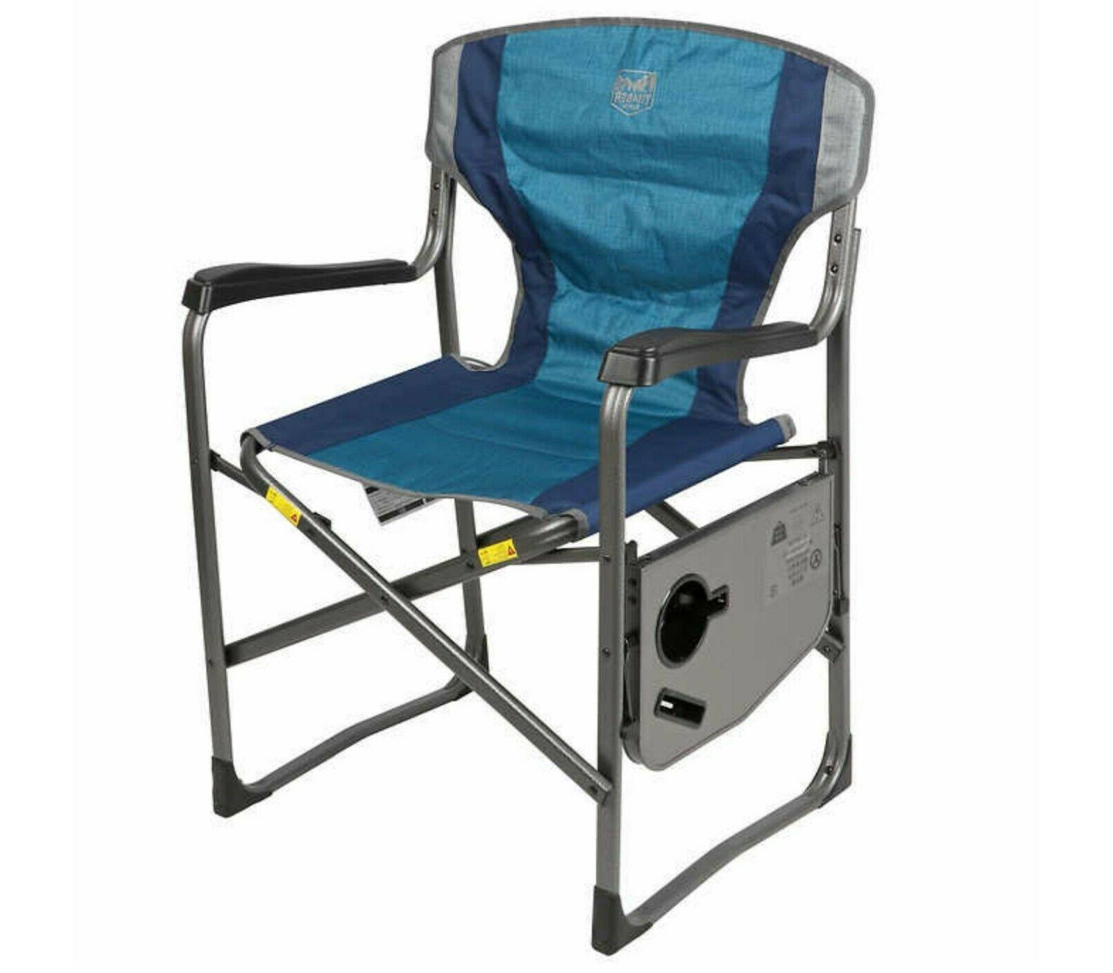 Folding Camping Sports Holder Chairs 2Pk