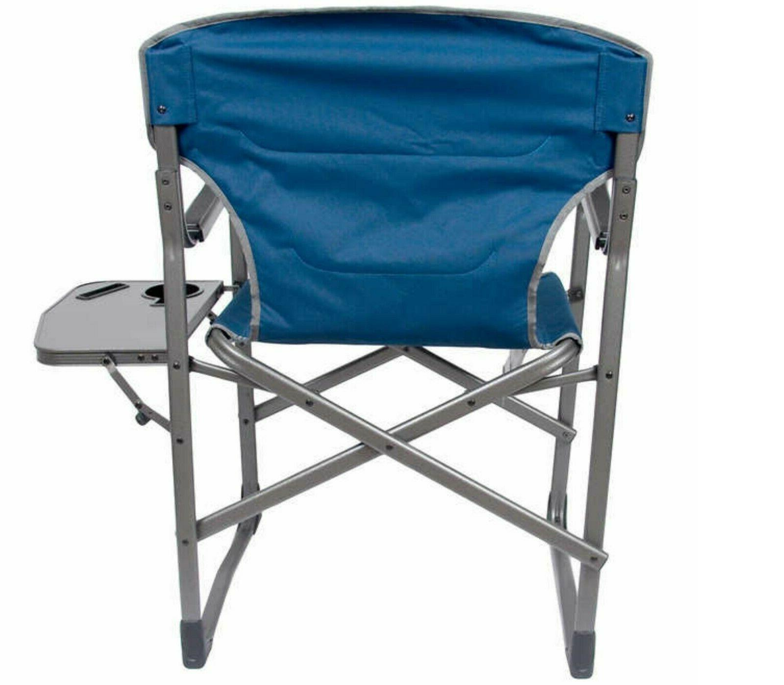 Camping Holder Blue Chairs