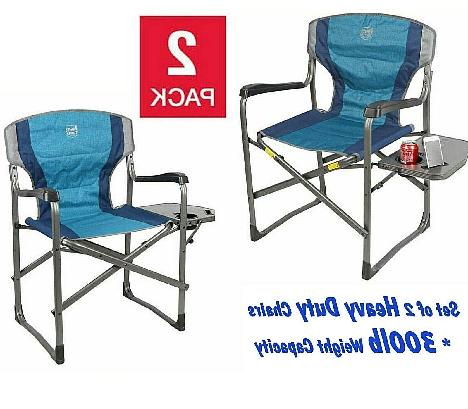 folding directors deck chair camping sports table