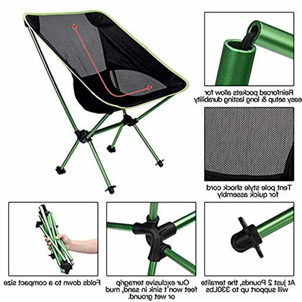 Folding Camping Backpacking Chair