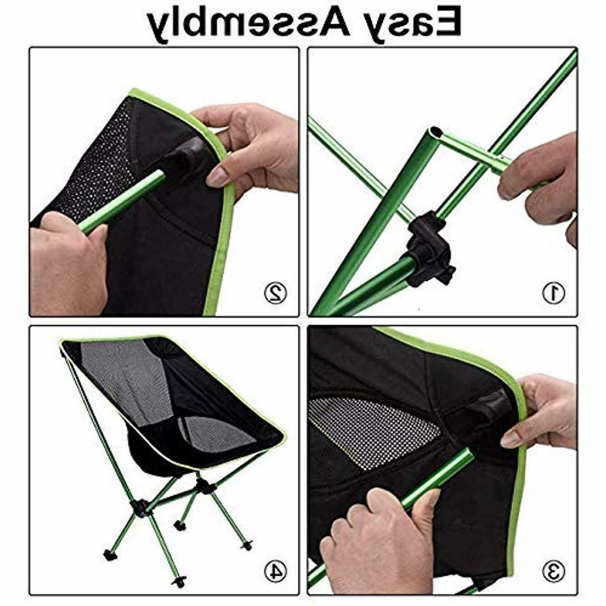 Folding Camping Chair Sports Outdoor Backpacking Chair