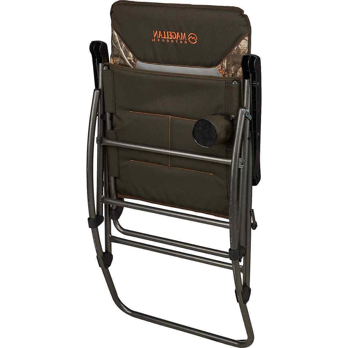 Folding Rocking Chair, Camping Porch Outdoor Seat Camo