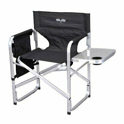 Stylish Camping Back Folding Director's Chair