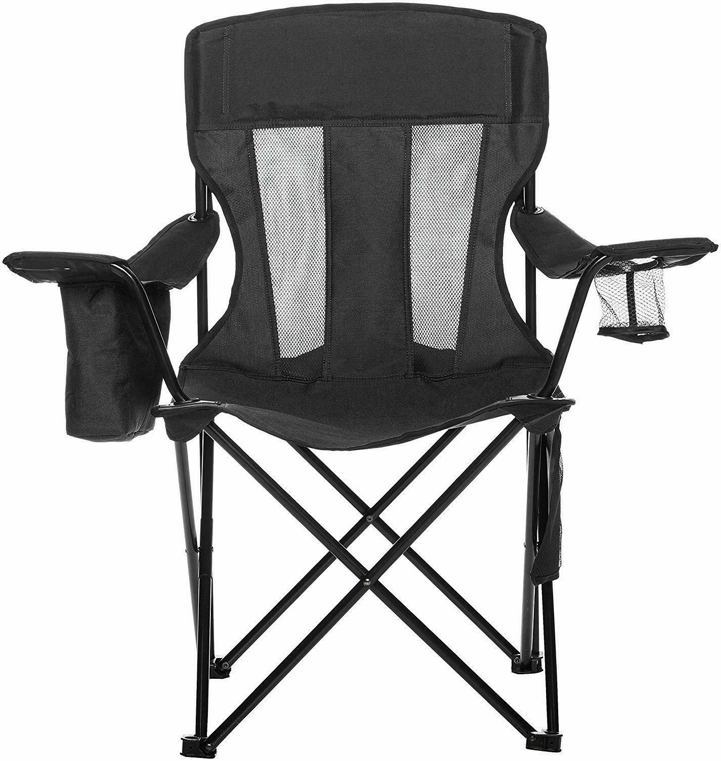 Heavy Duty Camping Chair Mesh Portable Folding Beach