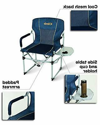 iClimb Heavy Duty Camping Folding with Table Handle