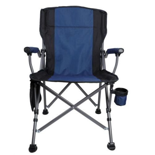 Outdoor Recliner Folding Rocking Portable Cup Holder