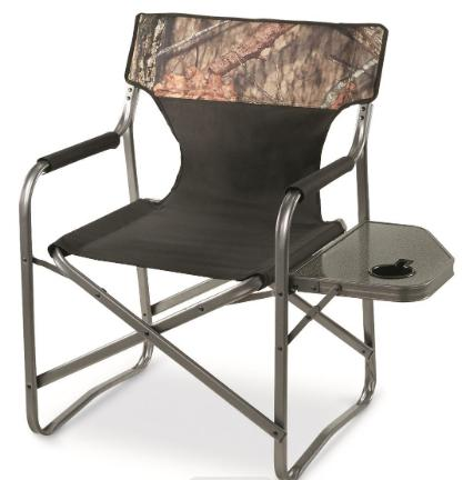 Heavy Duty Folding Chair Portable Camping Lounge Chair 500lb