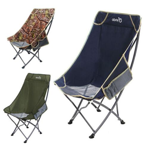 Heavy Duty Outdoor Camping Folding Chair Lightweight for Pin
