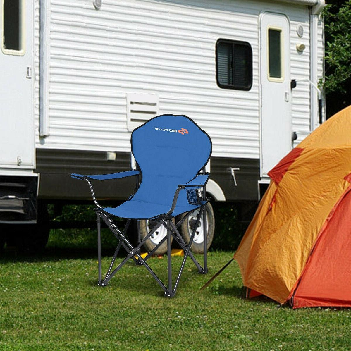 Heavy Duty Camping Chair Outdoor Fishing