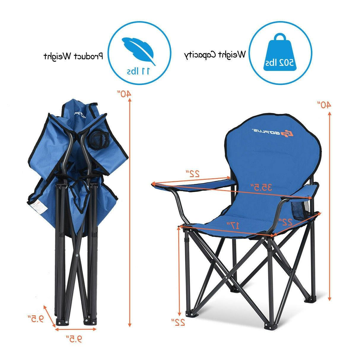 Heavy Portable Folding Camping Chair Outdoor Fishing Camp New