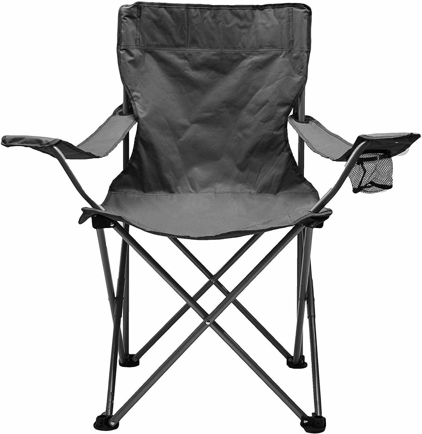Heavy Duty Portable Folding Camping Chair Outdoor Beach Fish