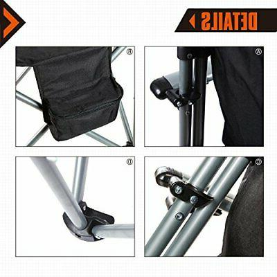 Outdoor Camping Director's Folding Steel Bag