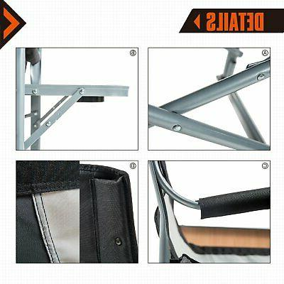 Heavy Steel Folding Director Cooler and Table