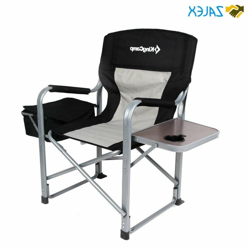 Heavy Duty Chair with Cooler Bag and Camping