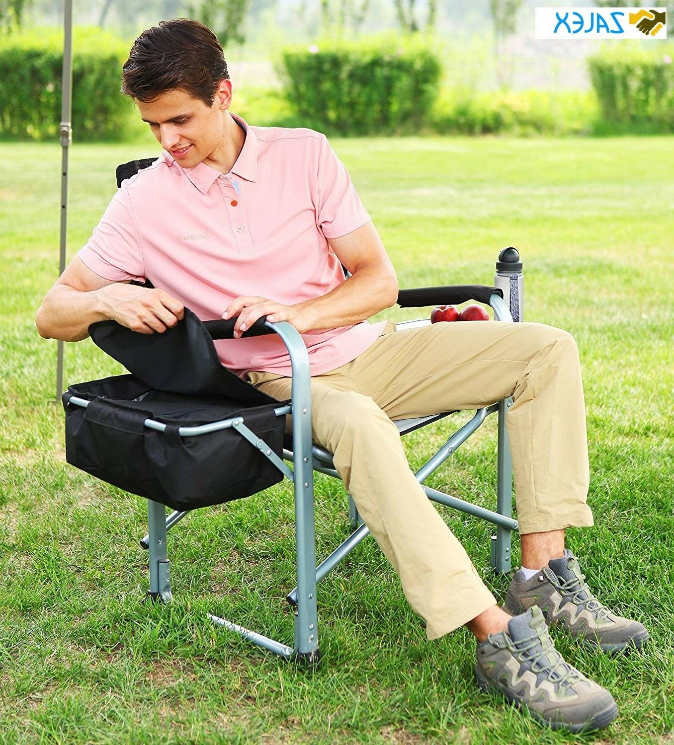 heavy duty steel folding chair director