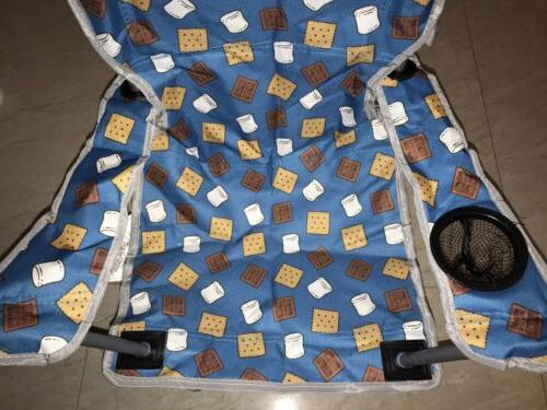 OZARK TRAIL CHAIR SMORES CAMPING STEEL FRAME QTY