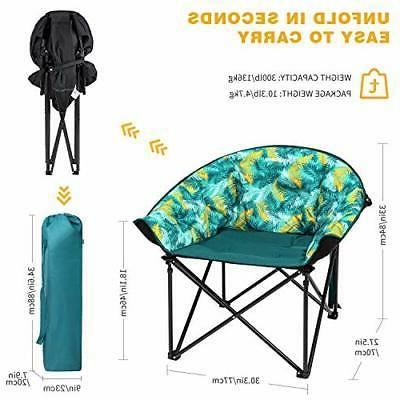 KingCamp Heavy Steel Camping Chair Padded