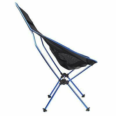 FBSPORT Folding Camping Backpack 1 pack Lounge Chair-dark Blue