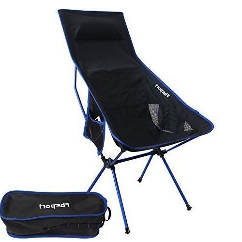 lightweight folding camping backpack chair