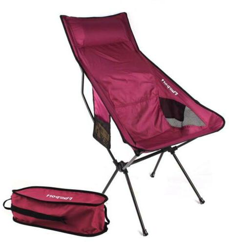 lightweight folding camping backpack chair compact