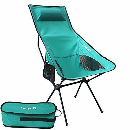 lightweight folding camping backpack chair compact lounge
