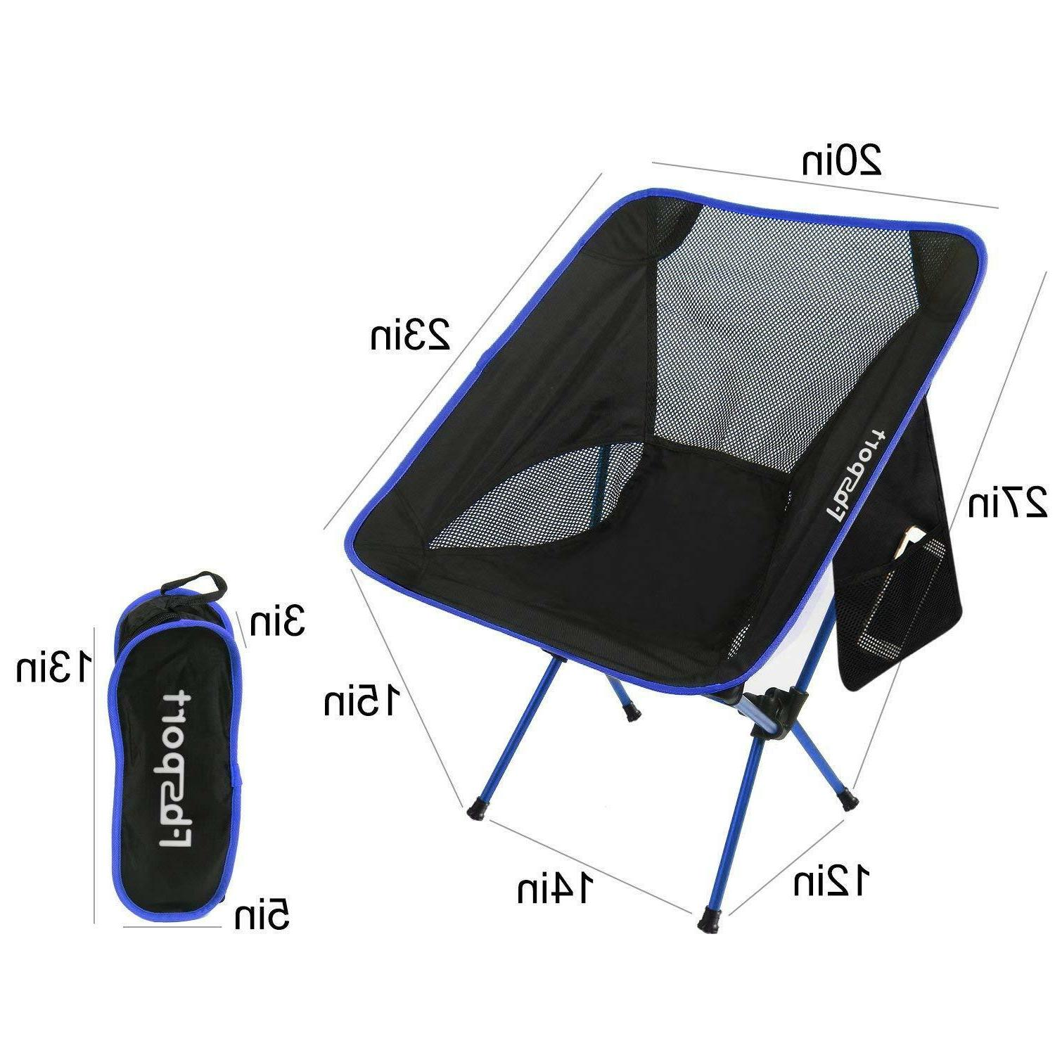 FBSPORT Folding Camping Backpack Chairs for Hiking