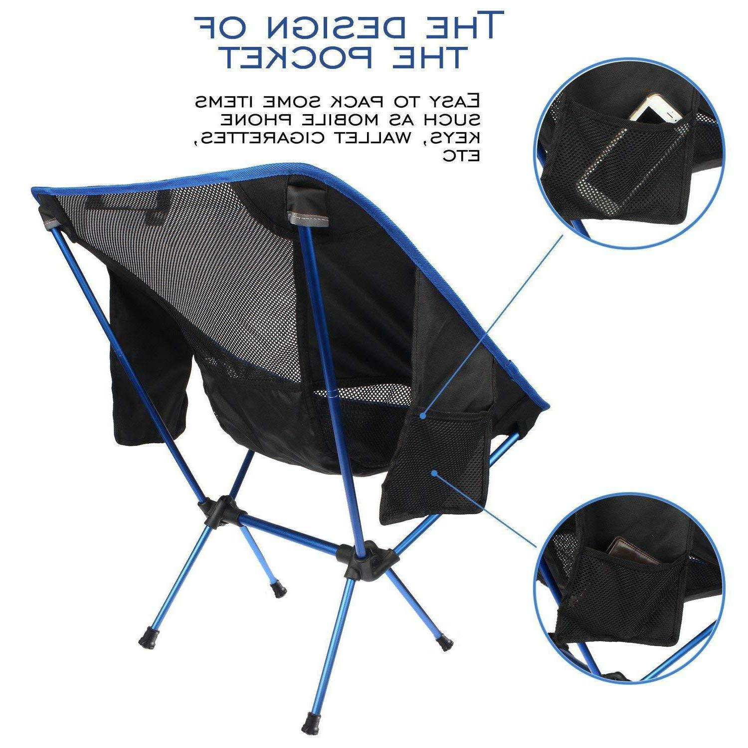 FBSPORT Backpack Chairs for Hiking Picnic Beach