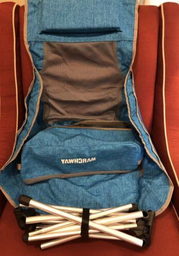 MARCHWAY Lightweight Back Camping Headrest, Portable