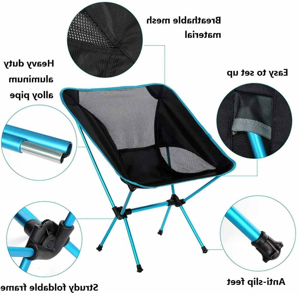 Lightweight Folding Chair for Fishing Picnic