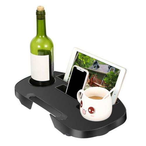 Lounge Chair Cup Holder For Outdoor Camp Picnic Beach Garden
