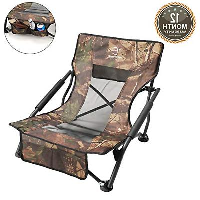 low sling beach camping concert folding chair
