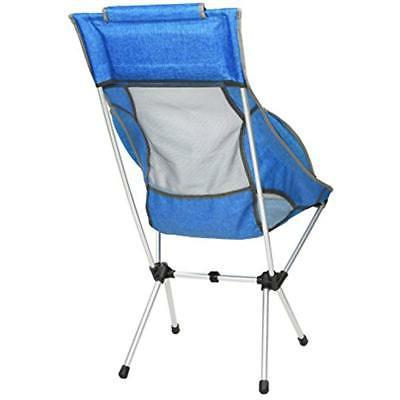 MARCHWAY Chairs High Back Camping Headrest, Portable