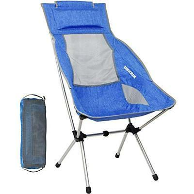 marchway lightweight chairs folding high back camping