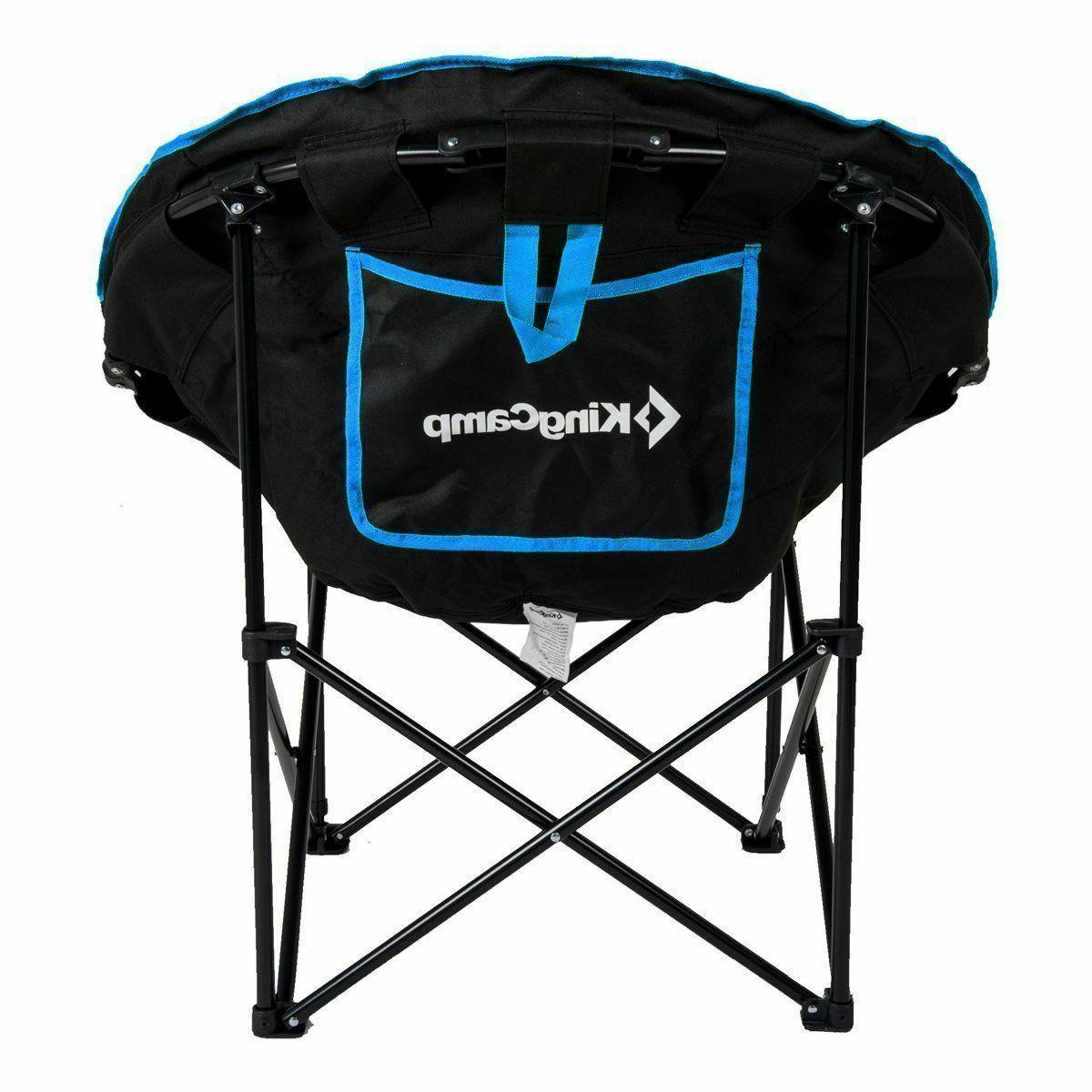 KingCamp Camping/Fishing Chair with Bag, Blue
