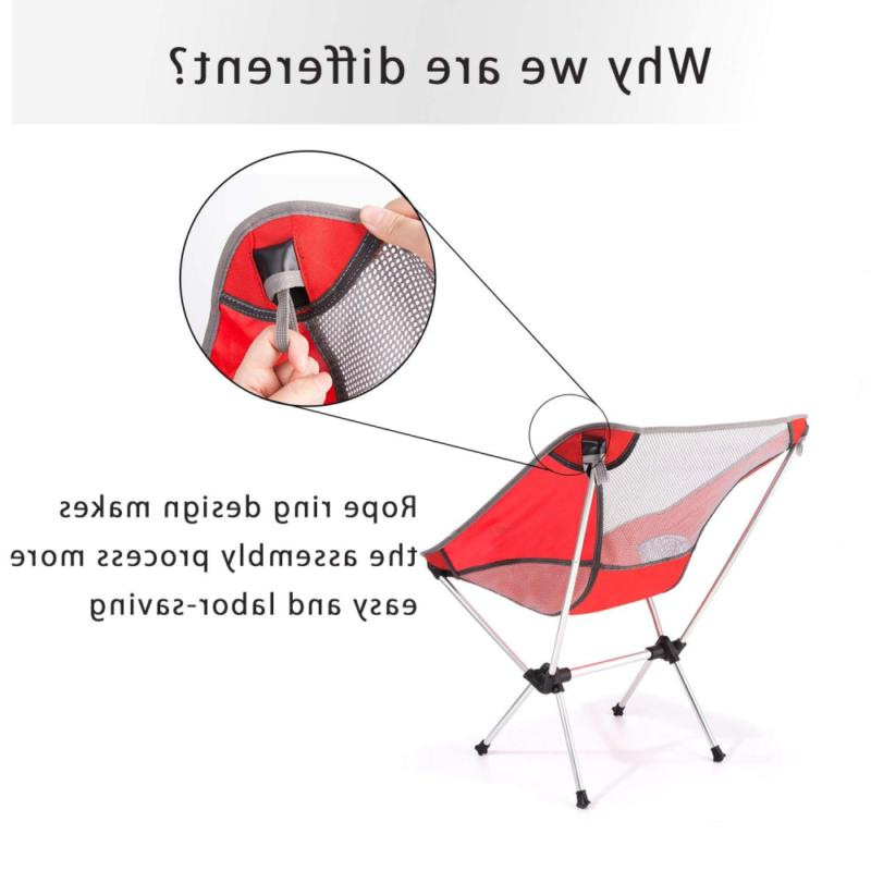 Moon Lence Folding Backpacking with Carry Bag