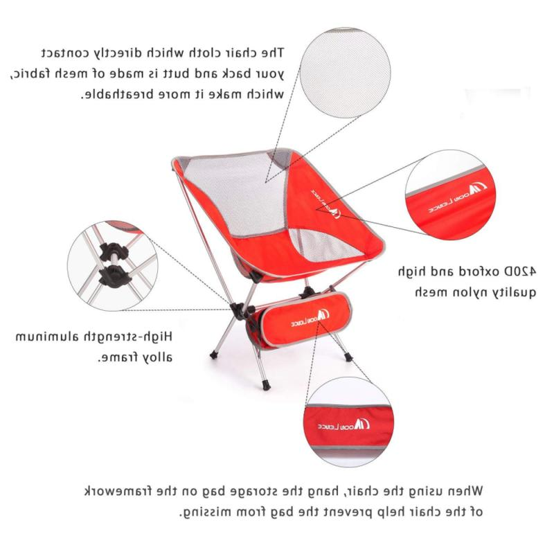 Moon Folding Chairs with Carry